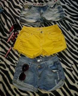 Shorts 3 for 250