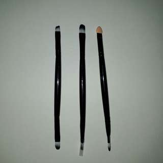 Dual Ended Eye Makeup Brushes