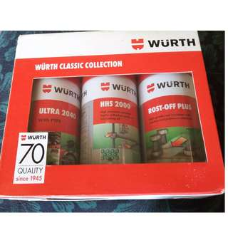 Wurth Classic Collection 3 in 1 Spray And Lubricant