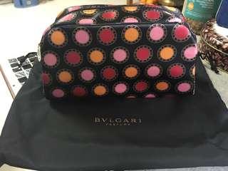BVLGARI PARFUMS 化妝袋連索繩袋