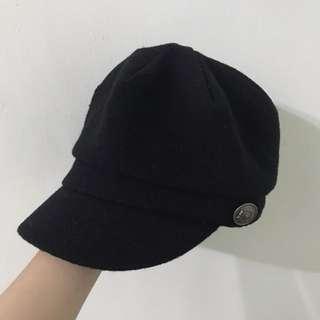 Net | 黑色報童帽