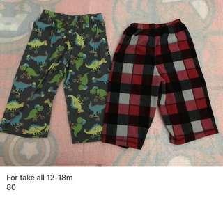 12-18months pajamas