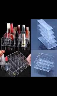 Lipstick acrylic holder
