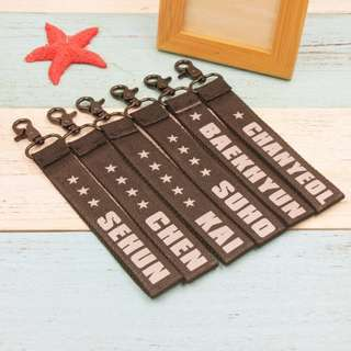 (Pre-order) Exo Phone Strap Each Members