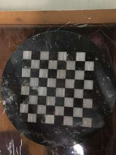 Vintage 1980's Greece 🇬🇷 Full Mable Stone Chess Board