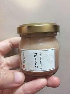 日本限定櫻花🌸味果jam