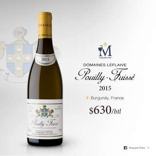 Domaine Leflaive Pouilly Fuisse 2015