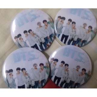 (Ready Stock) Bts Button Badge