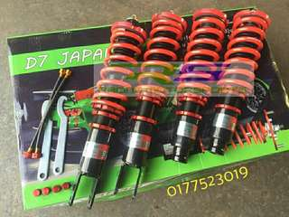 ADJUSTABLE SUSPENSION CIVIC EK EG EF