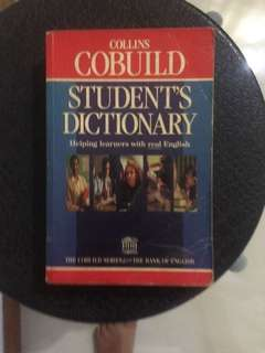 Cobuild Student's Dictionary