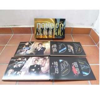 Jame Bond 007 - Celebrating 5 Decades of 007  (24 BLU-RAY DISCS - BOXED SET)