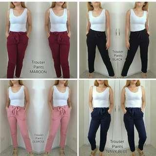 Trouser Pants