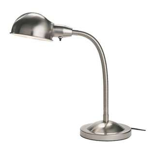 Ikea - Format Desk Work Lamp, Nickel Plated