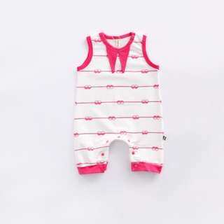 Sleeveless Jumpsuit for Baby Toddler Girl Baby Boy (0-24Months) CS022P