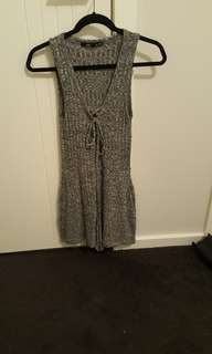 Sports girl grey jump suit