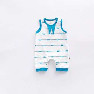 Sleeveless Jumpsuit for Baby Toddler Girl Baby Boy (0-24Months) CS022B