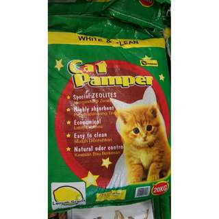 20kg Champion Cat Pamper Cat Litter