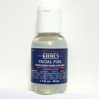 Kiehl's Facial Fuel Energizing Tonic for Men 40ml