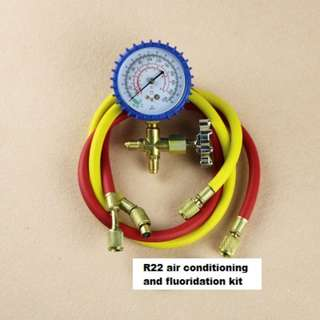 R22 air conditioning refrigerant pressure detection/gas meter