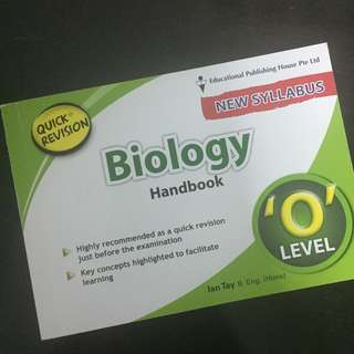 Biology O-Levels revision handbook