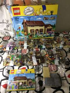 Original Lego Simpsons House Set