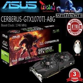 Asus CERBERUS GTX 1070 TI Advance 8G..