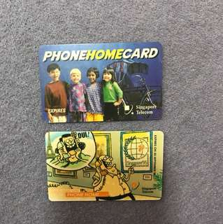 Old school phone cards