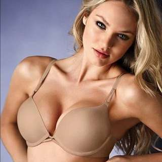 Victoria secret bombshell add 2 cups push-up bra