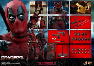 Hot toys DeadPool 首日單