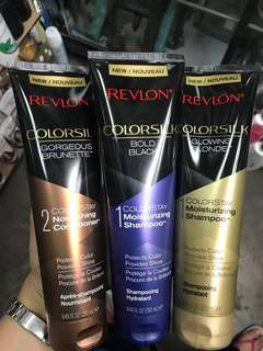 Revlon Colorsilk Shampoo and Conditioner
