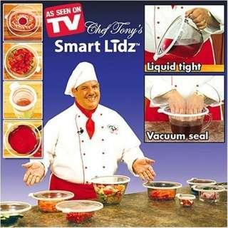 Smart Lidz Vacuum Sealing Lids - 1 set 4pcs - 真空食物保鮮蓋 - 1套4件 - Ref A0626