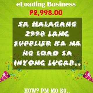 eLoading Business w/ basic phone + 404 wallet Load