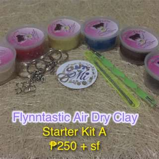 Air Dry Clay Starter Kit