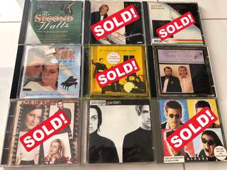 Oldies songs CDs 2/2