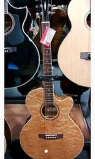 Cort E/Acoustic Gitar SFX-QM-NAT kredit jakarta18