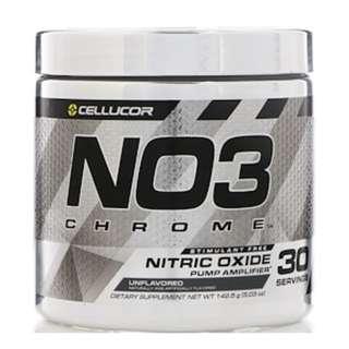 SALE Cellucor, NO3 Chrome, Nitric Oxide Pump Amplifier, Unflavored, 5.03 oz (142.5 g)