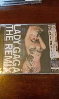 Lady Gaga Remix Japan First Pressing sealed CD , Paparazzi, Poker Face , Beyonce