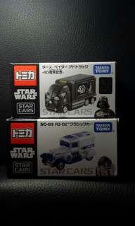 Tomica 車仔 Star Wars 星球大戰 黑武士 Star Cars 40th 週年紀念 全新日版正品