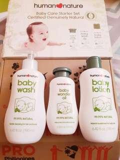 Human Nature Baby Care Starter Set