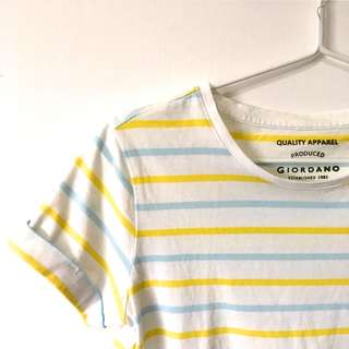 GIORDANO Striped Shirt