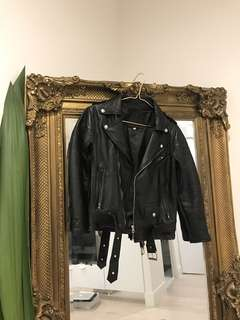 Kitsch Place Black Leather Jacket