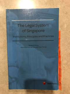 The legal system of Singapore: Gary Chan