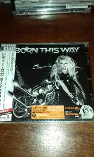 Lady Gaga Born this Way Japan Limited First Pressing sealed CD