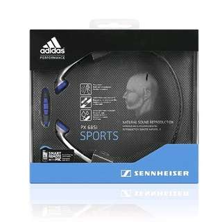 Sennheiser PX 685i Sports Headset with In-Line Remote & Microphone ( iOS ) - Black