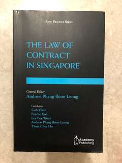 The law of Contract in Singapore