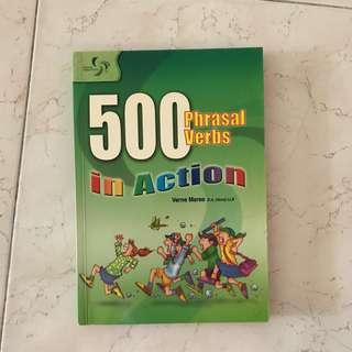 500 Phrasal assessment book
