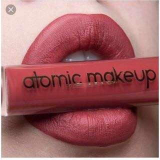 Atomic makeup (Lonely planet) 液態唇膏 💖 色號 Nikki