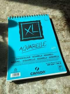Aquarelle watercolor paper XL