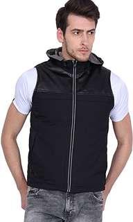 RFID PROTECTION, Sleeveless Travel Jacket-Vest for Men