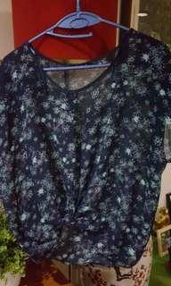 Floral See Through Shirt